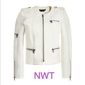 Alice and Olivia leather jacket size XS